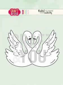 Bilde av Craft & You - Dies - CW080 - Swans