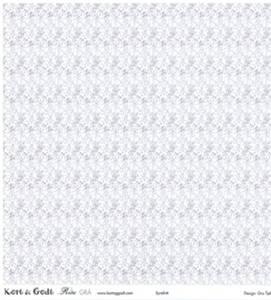 Bilde av Kort & Godt - Mønsterpapir 106681 - Rita grå 1159