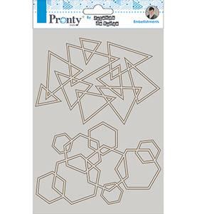Bilde av Pronty Crafts - Chipboard - A5 - Silhouette