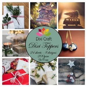 Bilde av Dixi Craft - Dixi toppers - ETL040 - Christmas