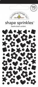 Bilde av Doodlebug - 6713 - Shape Sprinkles - Beetle Black
