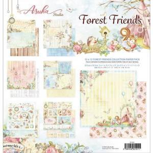 Bilde av Memory Place - Forest Friends - 12x12 Paper Pack