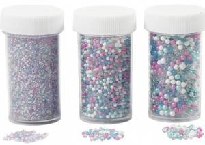 Bilde av Creotime - Mini glasskuler - 3 pk - Assortert fargemix