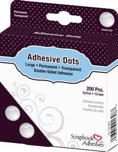 Bilde av Scrapbook Adhesives - Adhesive Glue Dots - Large - 13mm - 200stk