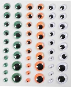 Bilde av Creotime - Googly Eyes - Halloween - 54 stk