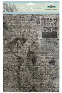 Bilde av Stamperia - Clear Prints Sheets - A4 - 6 ark