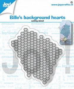 Bilde av Joy Crafts - 6002-1363 - Die - Bille's Background Hearts