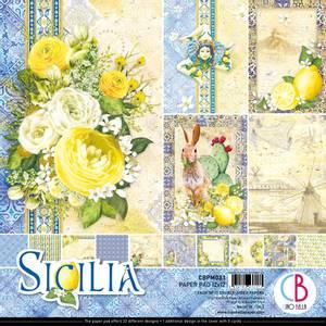 Bilde av Ciao Bella - 033 - 12x12 Paper Pad - Sicilia - 12pk