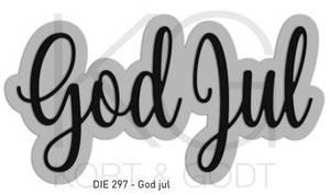 Bilde av Kort & Godt - Die 297 - God jul