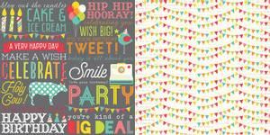 Bilde av Simple Stories - 5308 - Lets Party - Hip Hip Horray! - 12x12