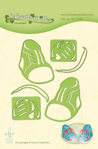 Bilde av Leane Creatief - 45.3240 - LeCrea 3D Dies - Baby Shoes