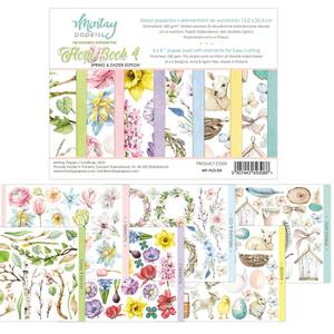 Bilde av Mintay - 6x8 paper pad - Flora Book 04 - Spring and Easter
