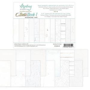 Bilde av Mintay - 6x8 paper pad - Basic Book 01 - Backgrounds - White
